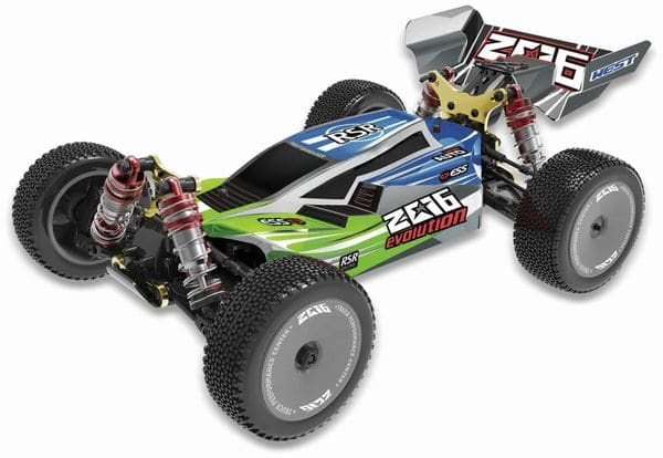 RC-Buggy DF MODELS Z06 Evolution, 1:14 RTR, 4WD-Antrieb - Produktbild 2