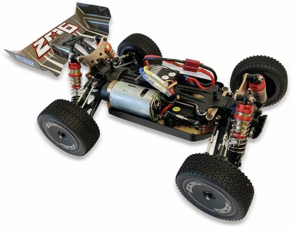 RC-Buggy DF MODELS Z06 Evolution, 1:14 RTR, 4WD-Antrieb - Produktbild 3