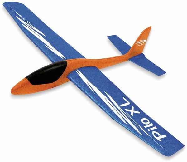 Jamara 460485 Pilo XL Schaumwurfgleiter EPPTragfläche blau Rumpf orange
