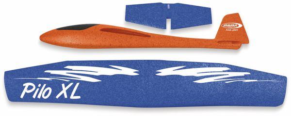 Jamara 460485 Pilo XL Schaumwurfgleiter EPPTragfläche blau Rumpf orange - Produktbild 3