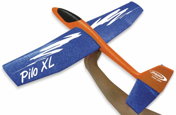 Jamara 460485 Pilo XL Schaumwurfgleiter EPPTragfläche blau Rumpf orange - Produktbild 4