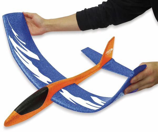 Jamara 460485 Pilo XL Schaumwurfgleiter EPPTragfläche blau Rumpf orange - Produktbild 5