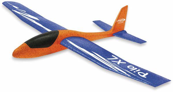 Jamara 460485 Pilo XL Schaumwurfgleiter EPPTragfläche blau Rumpf orange - Produktbild 6