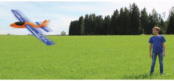 Jamara 460485 Pilo XL Schaumwurfgleiter EPPTragfläche blau Rumpf orange - Produktbild 9
