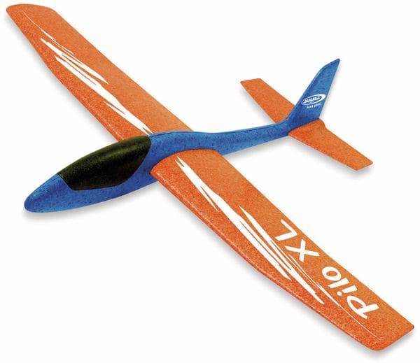 Jamara 460486 Pilo XL Schaumwurfgleiter EPPTragfläche orange Rumpf blau