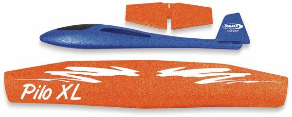 Jamara 460486 Pilo XL Schaumwurfgleiter EPPTragfläche orange Rumpf blau - Produktbild 3