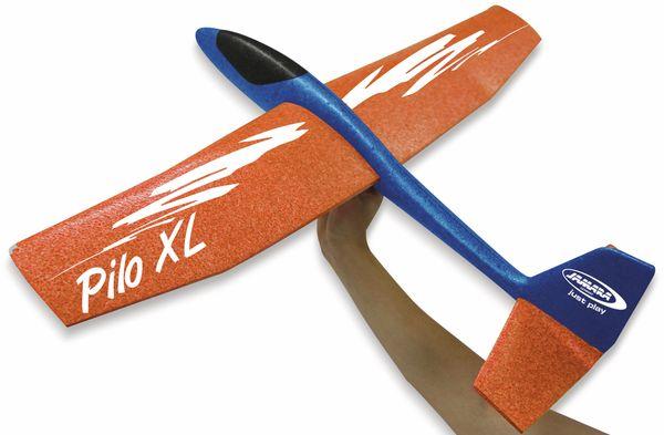 Jamara 460486 Pilo XL Schaumwurfgleiter EPPTragfläche orange Rumpf blau - Produktbild 4