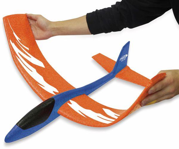 Jamara 460486 Pilo XL Schaumwurfgleiter EPPTragfläche orange Rumpf blau - Produktbild 5