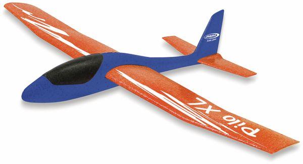Jamara 460486 Pilo XL Schaumwurfgleiter EPPTragfläche orange Rumpf blau - Produktbild 6