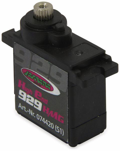 Jamara 74420 Servo High End 929HMGfür 450er Heli Digi/Metall22,5x11,5x24,6 - Produktbild 2