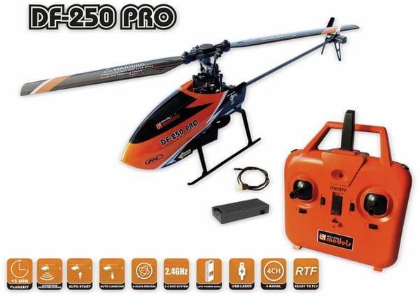 Helikopter DF MODELS DF-250 PRO, RTF - Produktbild 3