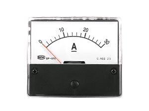 Drehspul-Einbauinstrument, 0...30 A-