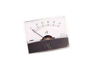 Drehspul-Einbauinstrument, 0...50 µA-