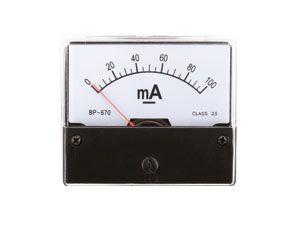 Drehspul-Einbauinstrument, 0...100 mA-