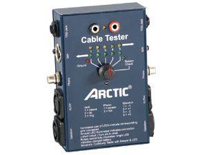 Kabeltester für Audiokabel