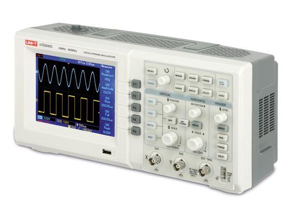 Digitales Speicher-Oszilloskop UTD2042C - Produktbild 1
