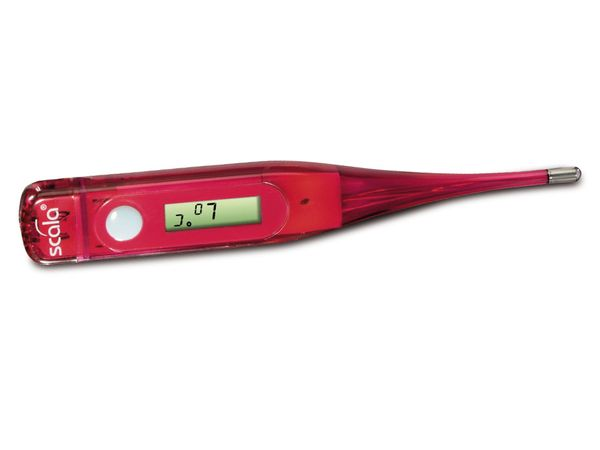 Digitales Fieberthermometer SCALA SC37T, rot