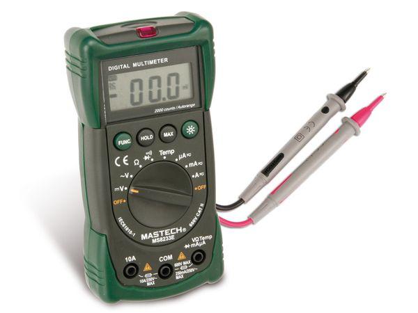 Digital-Multimeter MASTECH MS8233EL - Produktbild 1
