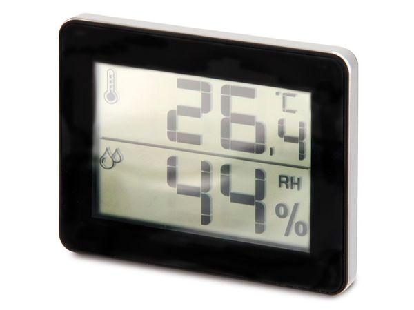 Digitales Thermo-Hygrometer TFA 30.5027.01, schwarz - Produktbild 1