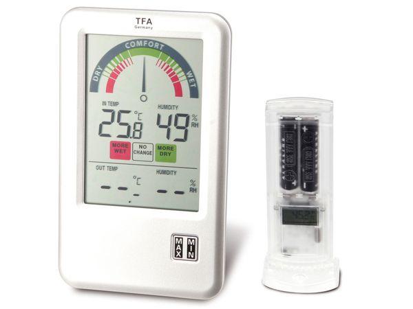 Funk-Thermometer/-Hygrometer TFA BEL-AIR - Produktbild 1