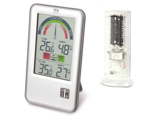 Funk-Thermometer/-Hygrometer TFA BEL-AIR - Produktbild 2