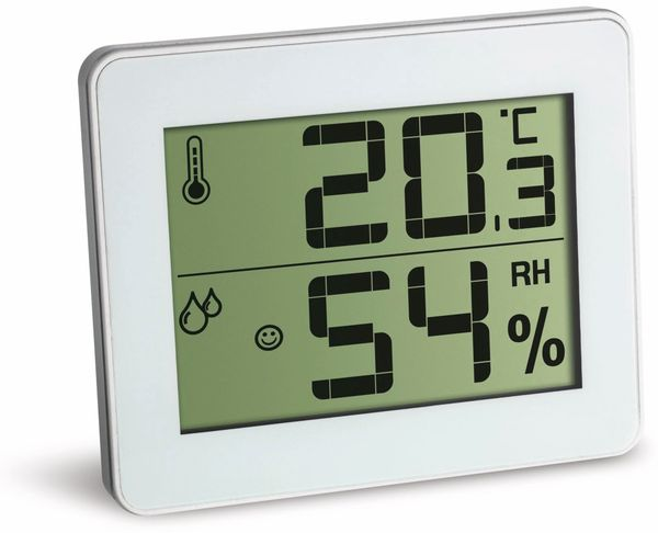 Digitales Thermo-Hygrometer TFA 30.5027.02, weiß