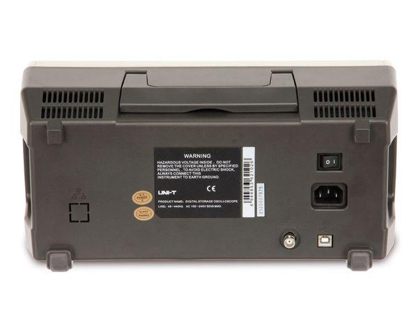LCD Speicher-Oszilloskop UNI-T UTD2102CM, 100 MHz, 1 GS/s - Produktbild 3