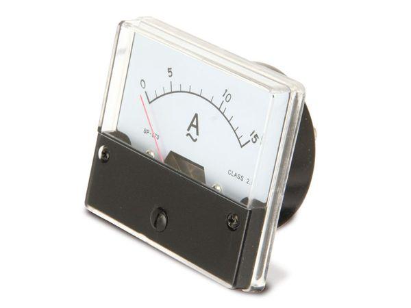 Dreheisen-Einbauinstrument, 0...15 A~ - Produktbild 2