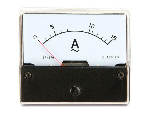 Dreheisen-Einbauinstrument, 0...15 A~ - Produktbild 3