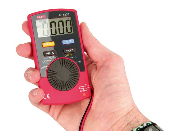 Pocket-Multimeter UNI-T UT120B - Produktbild 4