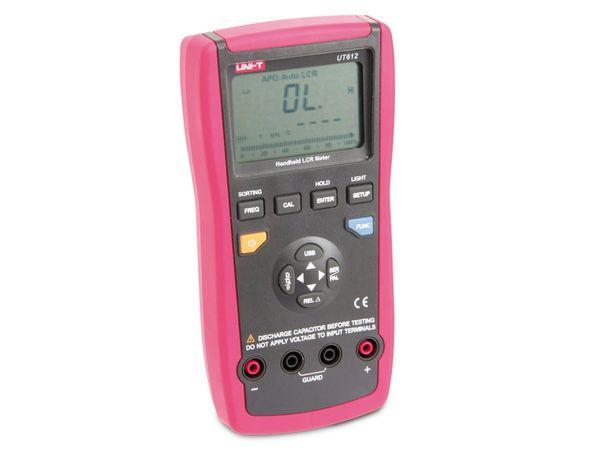 Digitales LCR-Messgerät UNI-T UT612, USB, 100 kHz - Produktbild 2