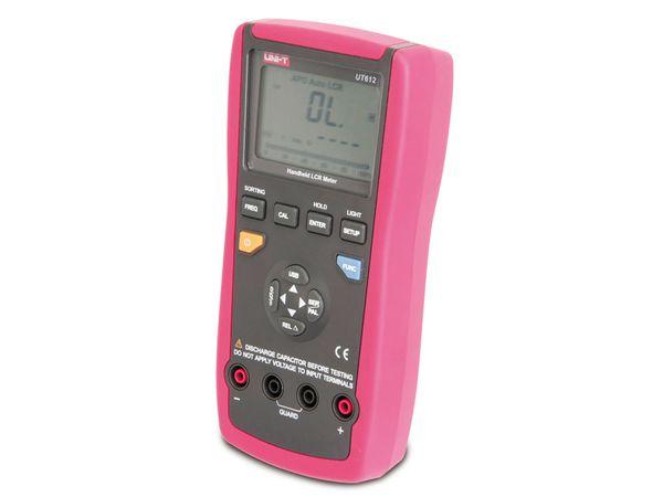 Digitales LCR-Messgerät UNI-T UT612, USB, 100 kHz - Produktbild 3