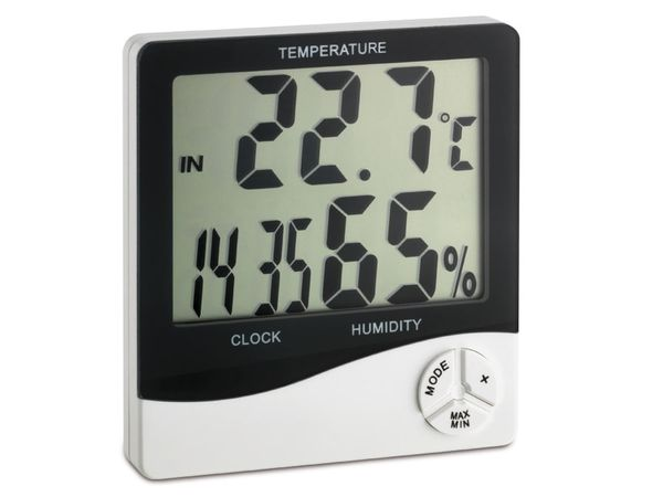Digitales Thermo-Hygrometer TFA 30.5031, weiß