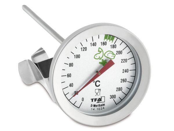 Einstich-Thermometer TFA 14.1024, mit Clip