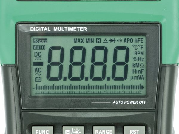 Digital-Multimeter MASTECH MS8340A - Produktbild 4