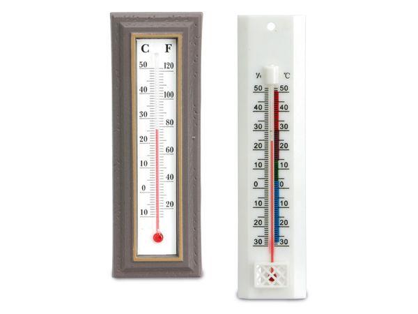 Thermometer-Set, 1x innen, 1x außen
