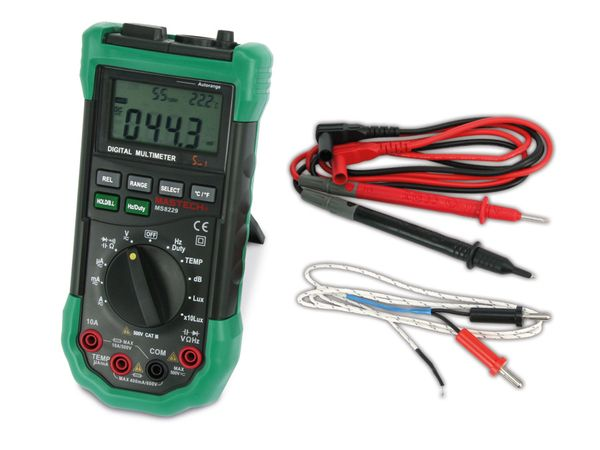 5 in 1 Digital-Multimeter MASTECH MS8229G - Produktbild 1