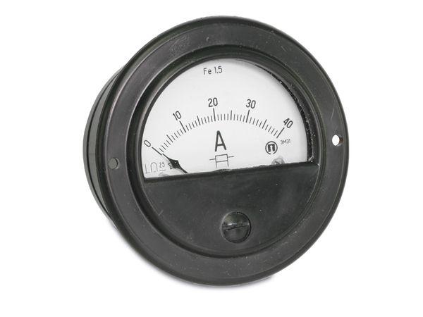 Drehspul-Einbauinstrument, 0...40 A- - Produktbild 1