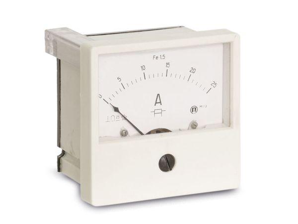 Drehspul-Einbauinstrument, 0...25 A- - Produktbild 1