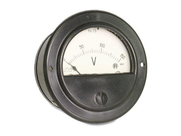 Drehspul-Einbauinstrument, 0...150 V- - Produktbild 1
