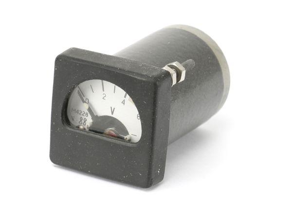 Drehspul-Einbauinstrument, 0...6 V- - Produktbild 1