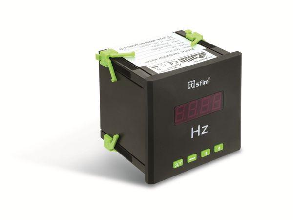Einbau-Messinstrument SFIM SFN-9K1-F, 96x96 mm, 30...99 Hz