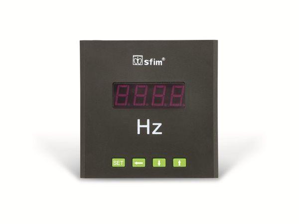Einbau-Messinstrument SFIM SFN-9K1-F, 96x96 mm, 30...99 Hz - Produktbild 2