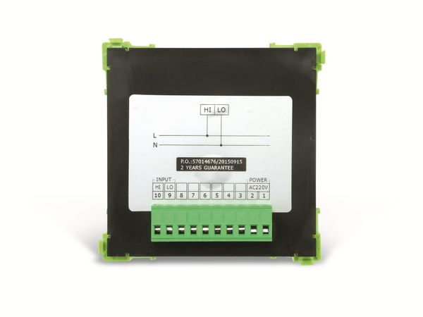 Einbau-Messinstrument SFIM SFN-9K1-U, 96x96 mm, 0...600 V~ - Produktbild 4