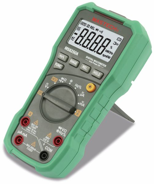 Digital-Multimeter MASTECH MS8250A, NCV - Produktbild 1