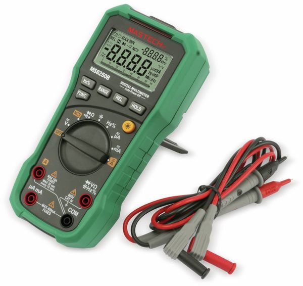 Digital-Multimeter MASTECH MS8250B, USB, NCV - Produktbild 1