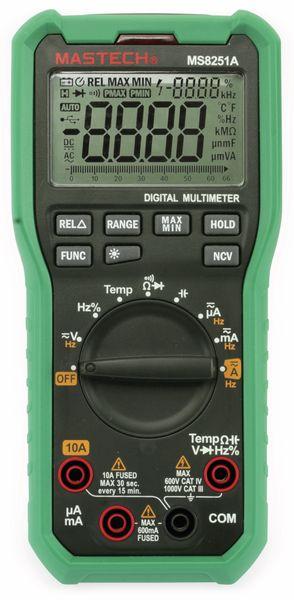 Digital-Multimeter MASTECH MS8251A, NCV - Produktbild 4
