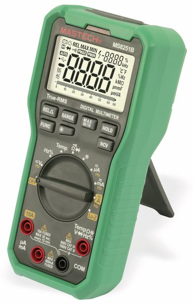 True RMS Digital-Multimeter MASTECH MS8251B, NCV, LoZ