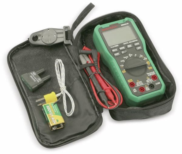 True RMS Digital-Multimeter MASTECH MS8251B, NCV, LoZ - Produktbild 5