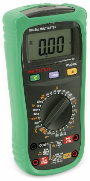 Digital-Multimeter MASTECH MS8360C, NCV - Produktbild 4